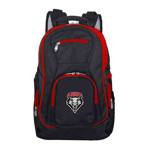 CLNML708: NCAA New Mexico Lobos Trim color Laptop Backpack