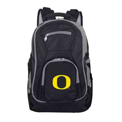 CLODL708: NCAA Oregon Ducks Trim color Laptop Backpack