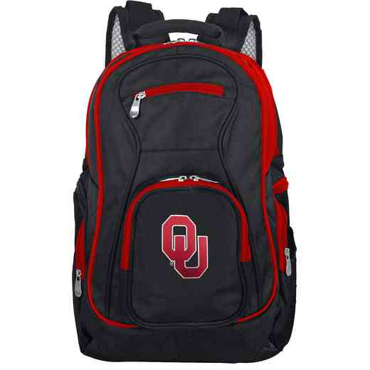 CLOUL708: NCAA Oklahoma Sooners Trim color Laptop Backpack