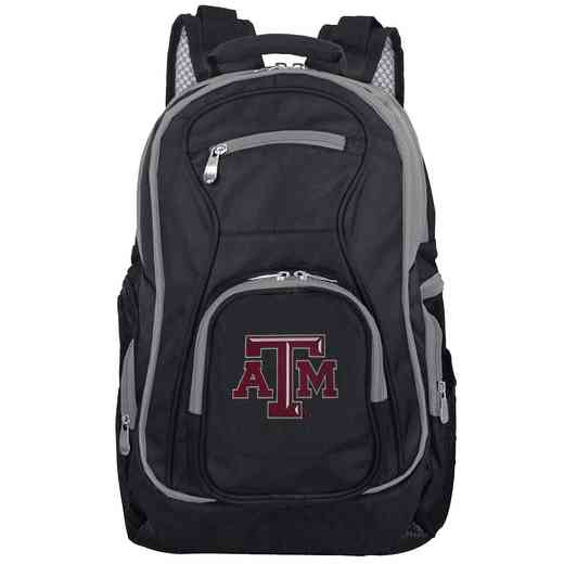 CLTAL708: NCAA Texas A&M Aggies Trim color Laptop Backpack