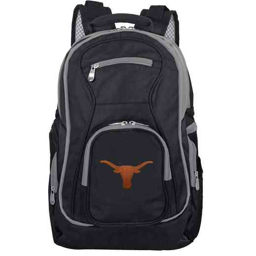 CLTXL708: NCAA Texas Longhorns Trim color Laptop Backpack