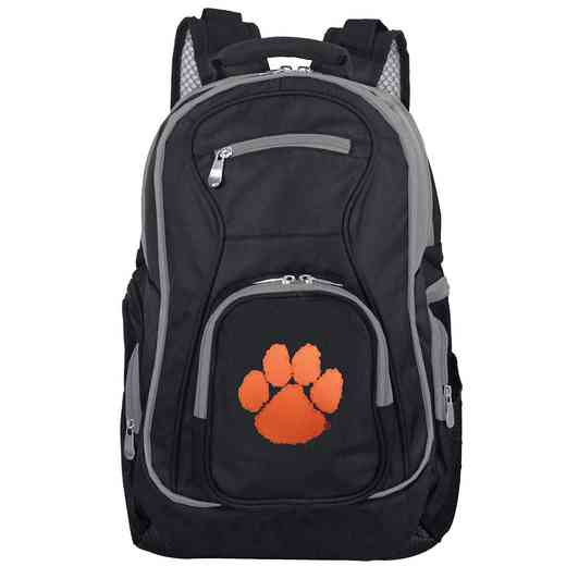 CLCLL708: NCAA Clemson Tigers Trim color Laptop Backpack