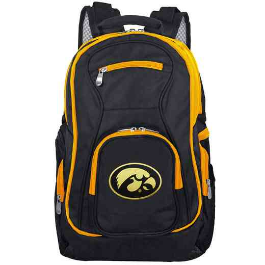 CLIWL708: NCAA Iowa Hawkeyes Trim color Laptop Backpack