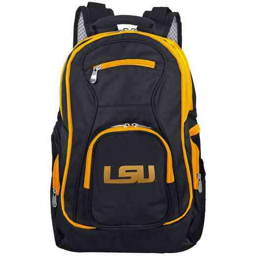 CLLSL708: NCAA Louisiana Tigers Trim color Laptop Backpack