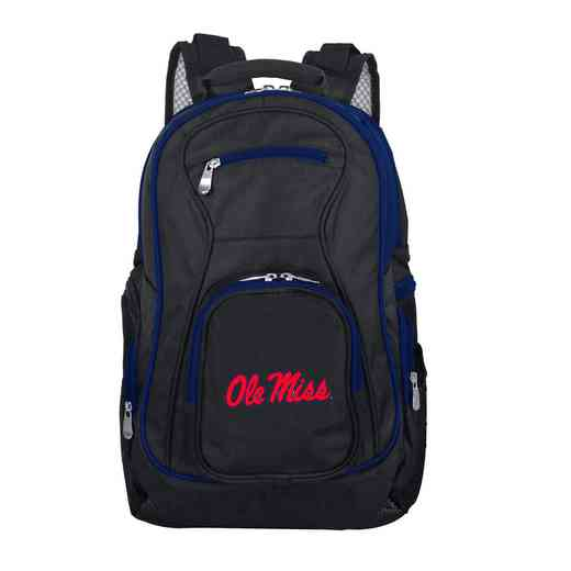 CLMIL708: NCAA Mississippi Ole Miss Trim color Laptop Backpack