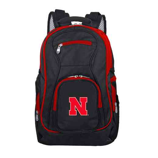 CLNBL708: NCAA Nebraska Cornhuskers Trim color Laptop Backpack