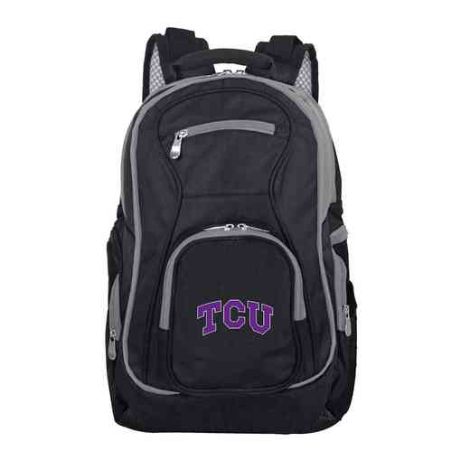 CLTCL708: NCAA Texas Christian University Horned Frogs Trim color Laptop Backpack