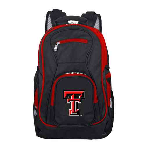 CLTTL708: NCAA Texas Tech Red Raiders Trim color Laptop Backpack