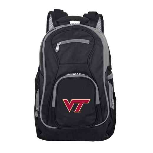 CLVTL708: NCAA Virginia Tech Hokies Trim color Laptop Backpack