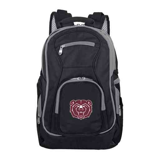 CLMBL708: NCAA Missouri State University Bears Trim color Laptop Backpack