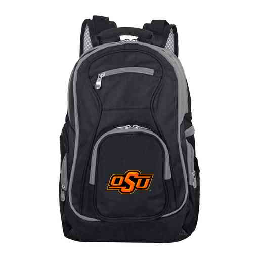 CLOKL708: NCAA Oklahoma State Cowboys Trim color Laptop Backpack