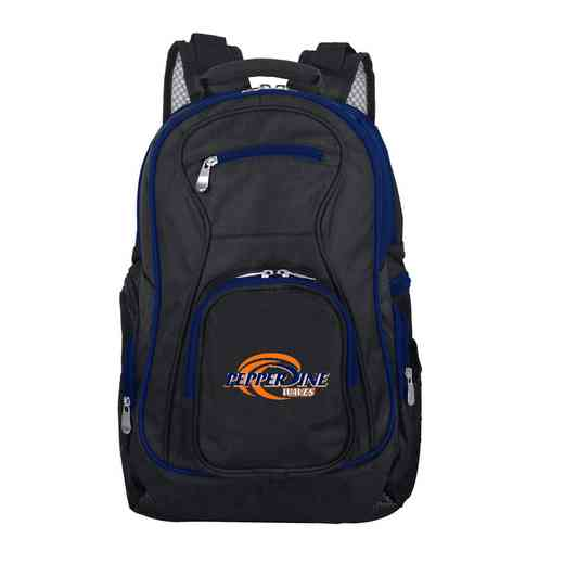 CLPPL708: NCAA Pepperdine University Waves Trim color Laptop Backpack