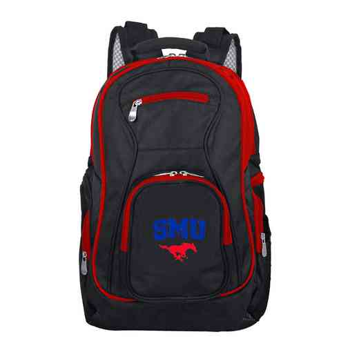 CLSML708: NCAA Southern Methodist Mustangs Trim color Laptop Backpack
