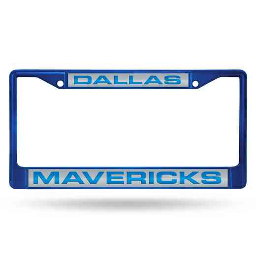 FNFCCL84002BL: RICO MAVERICKS BLUE LASER COLORED CHROME FRAME