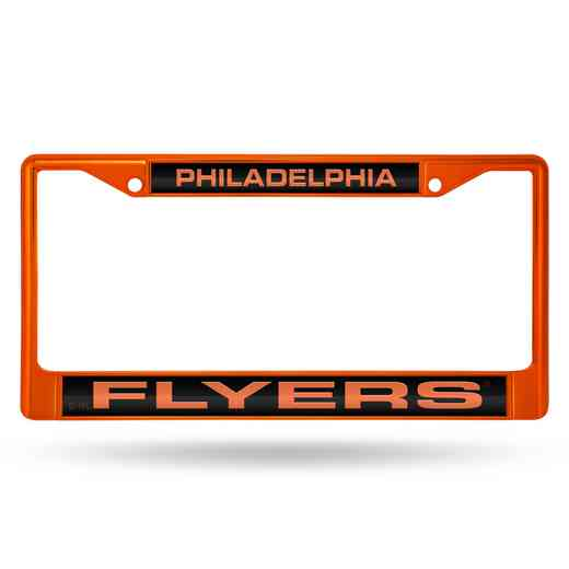FNFCCL7402OR: RICO FLYERS ORANGE LASER COLORED CHROME FRAME
