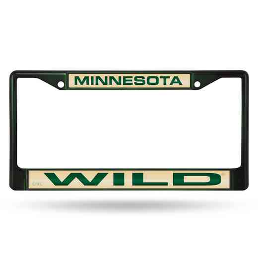 FNFCCL9802DG: RICO WILD DARK GREEN LASER COLORED CHROME FRAME