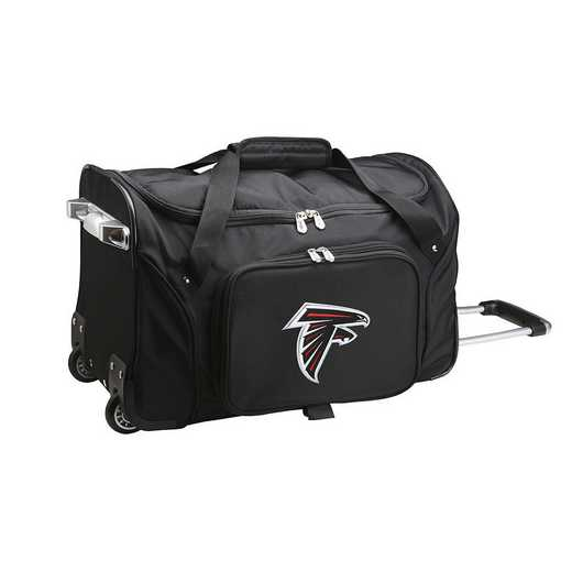 NFAFL401: NFL Atlanta Falcons 22IN WHLD Duffel Nylon Bag