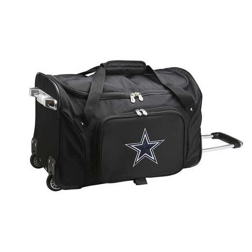 NFDCL401: NFL Dallas Cowboys 22IN WHLD Duffel Nylon Bag