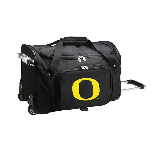 CLODL401: NCAA Oregon Ducks 22IN WHLD Duffel Nylon Bag