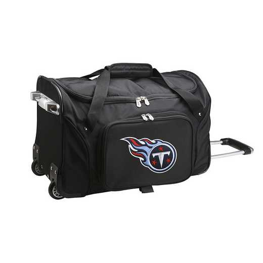 NFTTL401: NFL Tennessee Titans 22IN WHLD Duffel Nylon Bag