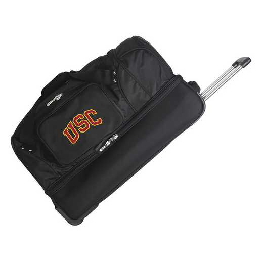 CLSCL300: NCAA Southern Cal Trojans 27IN WHLD Duffel Nylon bag