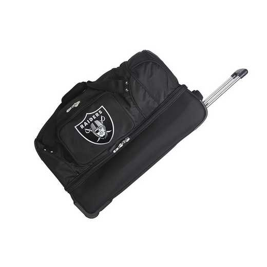 NFORL300: NFL Oakland Raiders 27IN WHLD Duffel Nylon bag