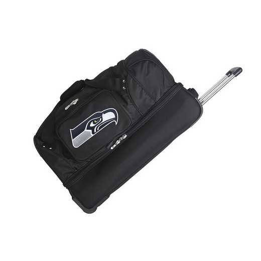 NFSSL300: NFL Seattle Seahawks 27IN WHLD Duffel Nylon bag