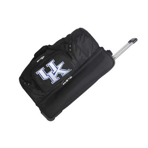 CLKYL300: NCAA Kentucky Wildcats 27IN WHLD Duffel Nylon bag