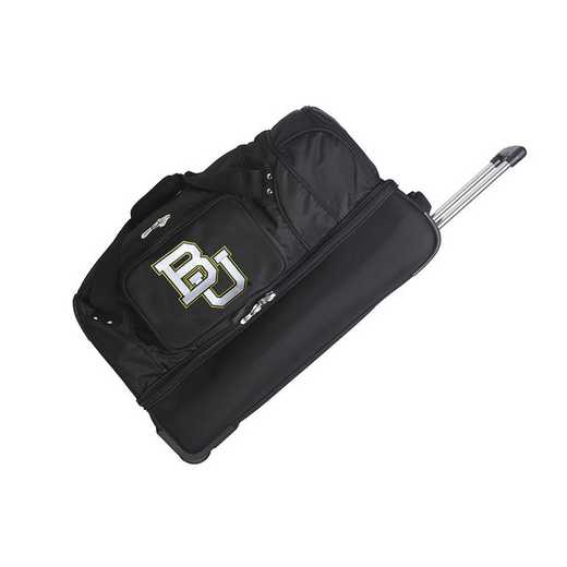 CLBAL300: NCAA Baylor Bears 27IN WHLD Duffel Nylon bag