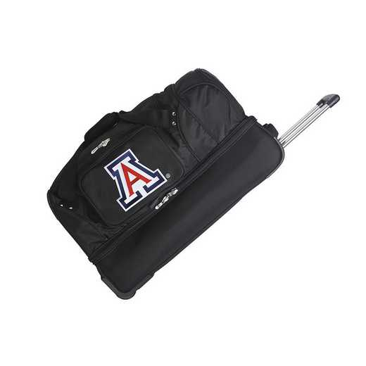 CLUAL300: NCAA Arizona Wildcats 27IN WHLD Duffel Nylon bag