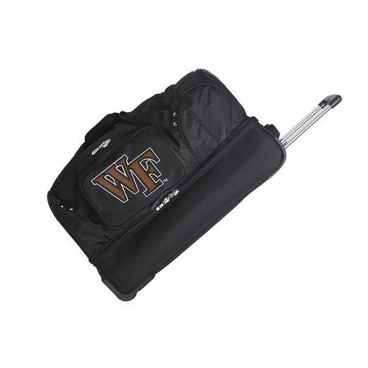 CLWFL300: NCAA Wake Forest Demon Deacons 27IN WHLD Duffel Nylon bag