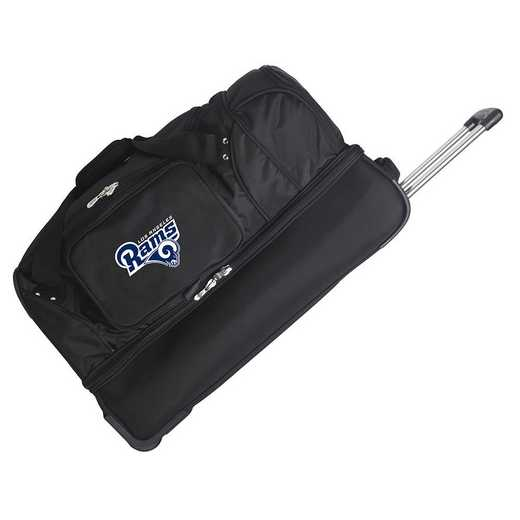 NFLRL300: NFL Los Angeles Rams 27IN WHLD Duffel Nylon bag