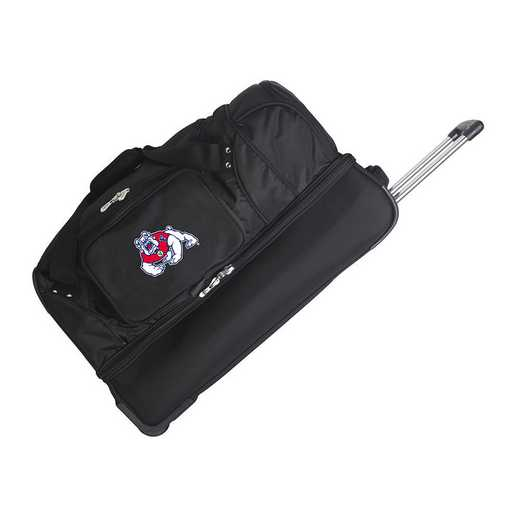 CLFRL300: NCAA Fresno State Bulldogs 27IN WHLD Duffel Nylon bag