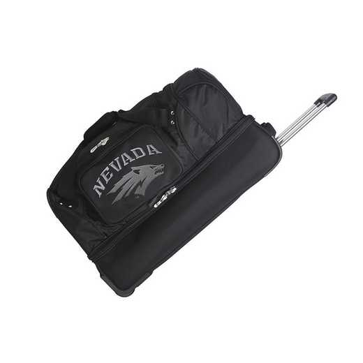 CLNAL300: NCAA Nevada Wolf Pack 27IN WHLD Duffel Nylon bag