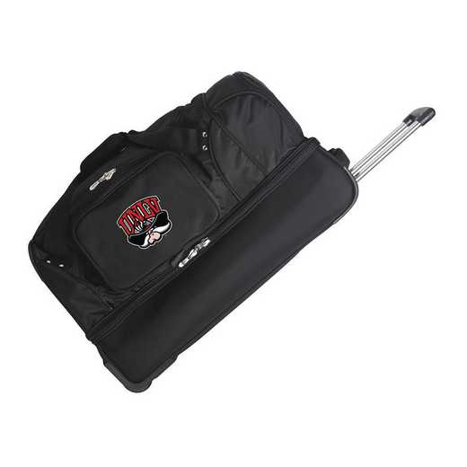 CLNLL300: NCAA UNLV Rebels 27IN WHLD Duffel Nylon bag