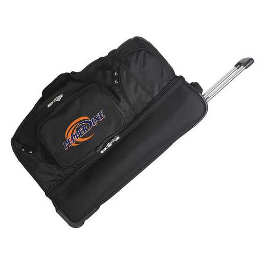 CLPPL300: NCAA Pepperdine UNIV Waves 27IN WHLD Duffel Nylon bag