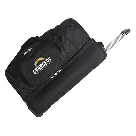 NFLCL300: NFL Los Angeles Chargers  27IN WHLD Duffel Nylon bag