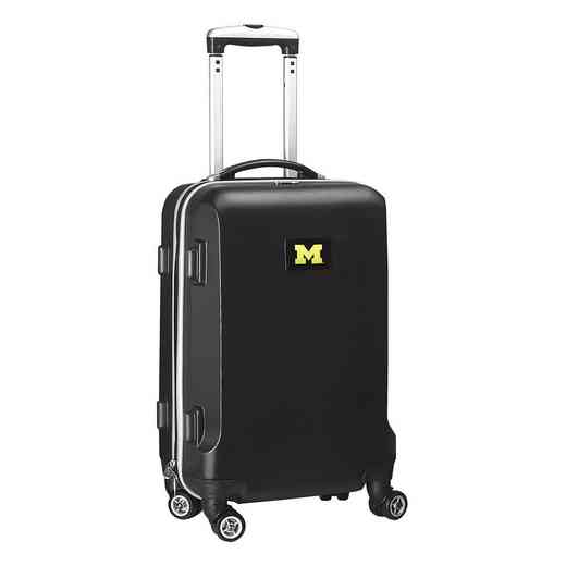 CLMCL204-BLACK: NCAA Michigan Wolverines   21IN Hardcase Spinner -BLK
