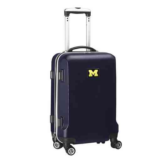 CLMCL204-NAVY: NCAA Michigan Wolverines   21IN Hardcase Spinner -NVY