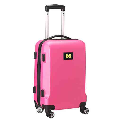 CLMCL204-PINK: NCAA Michigan Wolverines   21IN Hardcase Spinner -PNK