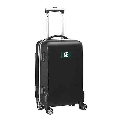 CLMSL204-BLACK: NCAA Michigan St Spartans   21IN Hardcase Spinner -BLK