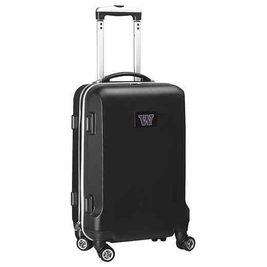CLWAL204-BLACK: NCAA Washington Huskies   21-Inch Hardcase Spinner BLK