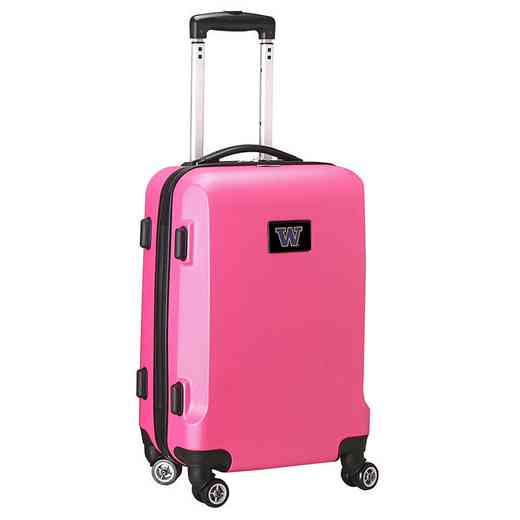 CLWAL204-PINK: NCAA Washington Huskies   21-Inch Hardcase Spinner PNK