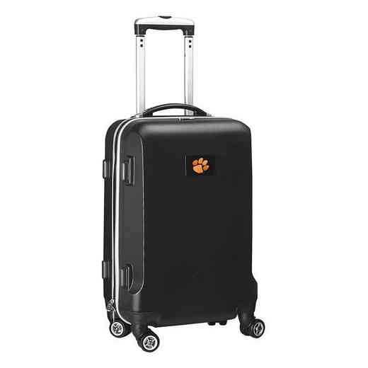 CLCLL204-BLACK: NCAA Clemson Tigers   21-Inch Hardcase Spinner BLK