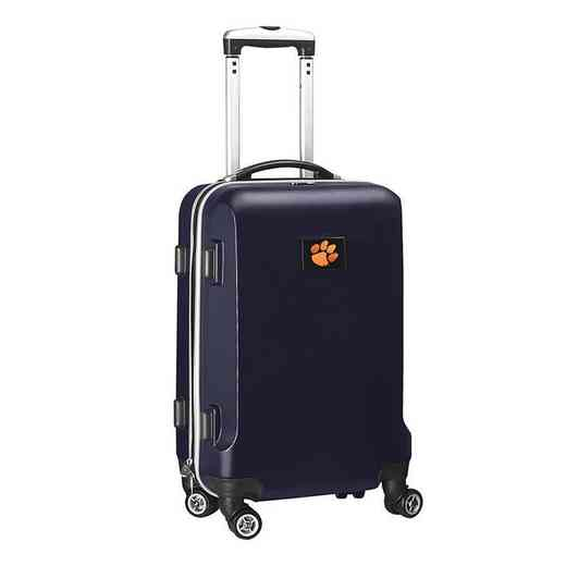 CLCLL204-NAVY: NCAA Clemson Tigers   21-Inch Hardcase Spinner NVY