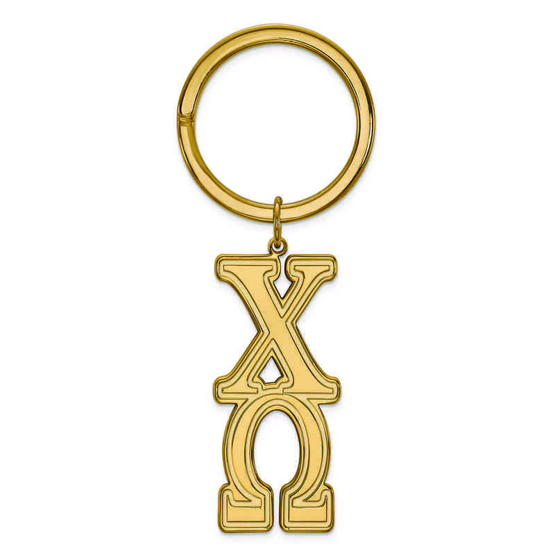GP010CHO: SS w/GP LogoArt Chi Omega Key Chain