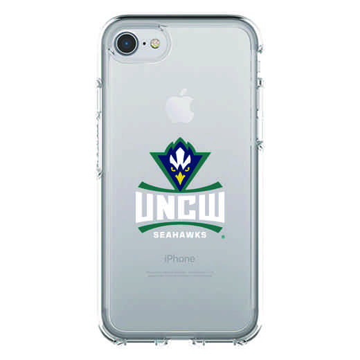 IPH-87-CL-SYM-UNCW-D101: FB UNC Wilmington OB SYMMETRY CLEAR IPN 7 CLEAR 624