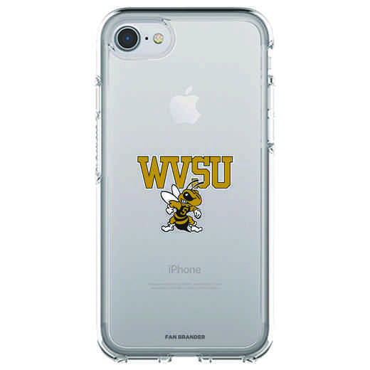 IPH-87-CL-SYM-WVSU-D101: FB West Virginia St OB SYMMETRY CLEAR IPN 7 CLEAR