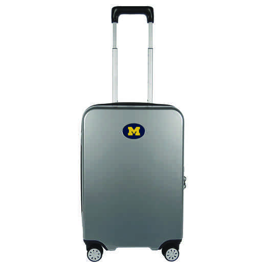 CLMCL240-GRAY: NCAA Michigan Wolverines  22IN Hardcase spinner GRY