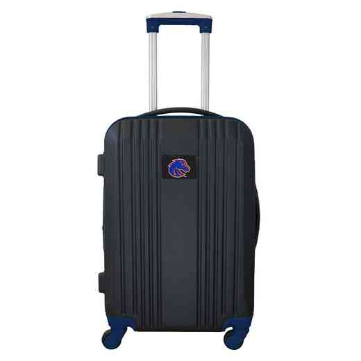 CLBSL208-NAVY: NCAA Boise St Broncos  21IN Hardcase 2TONE Spinner NVY